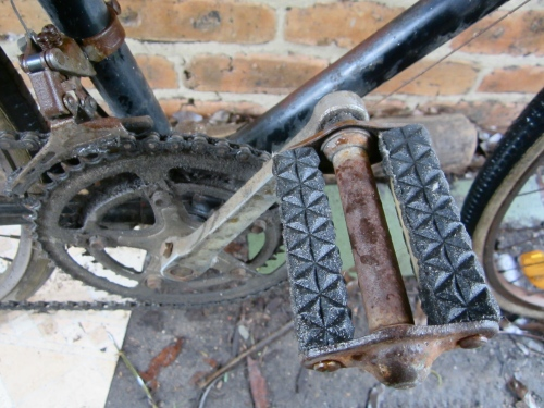 old style non-original platform pedals