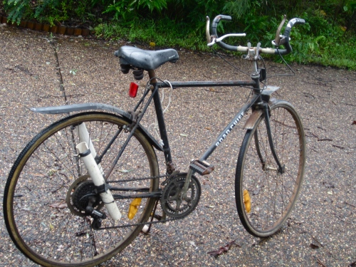 features front sports fender and rear zefal MTB mud flapper