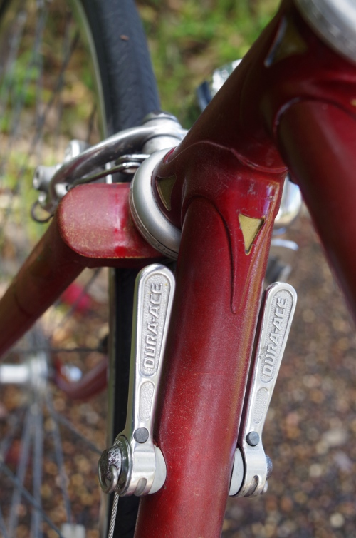 dura-ace levers