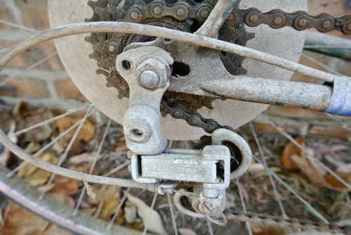 drop-out and bodged derailleur