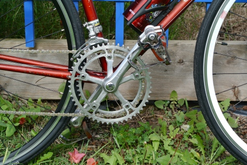 ofmega cx chainset - no complaints here