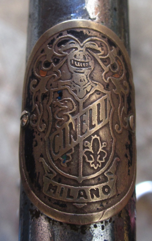 cinelli stem badge