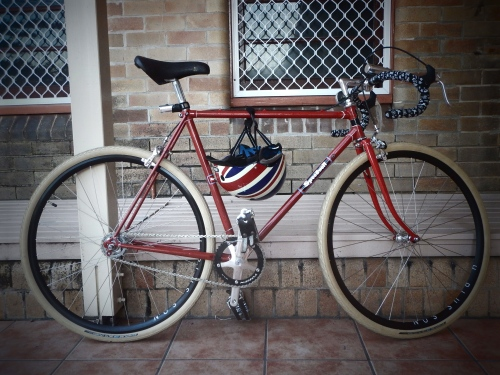 the mystery bike