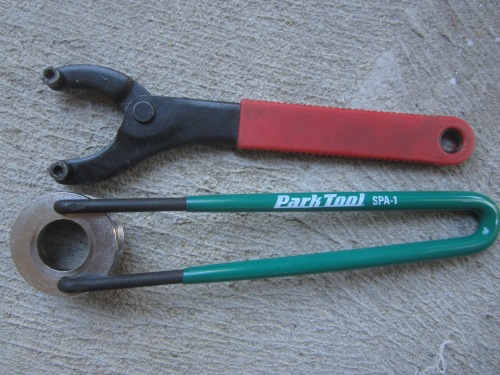 these tools are good for adjusting but not so for removal