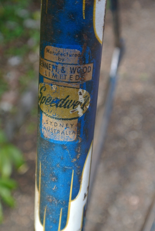 seat tube decal 'made in sydney'