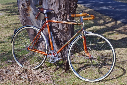 5aa7fb8d0b Project Holland, Part 2 – Old Gold : Posted in bicycle recycling, brooks  bicycle saddles ...